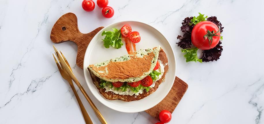 Rezept der Woche: Super-Spinat-Pfannkuchen
