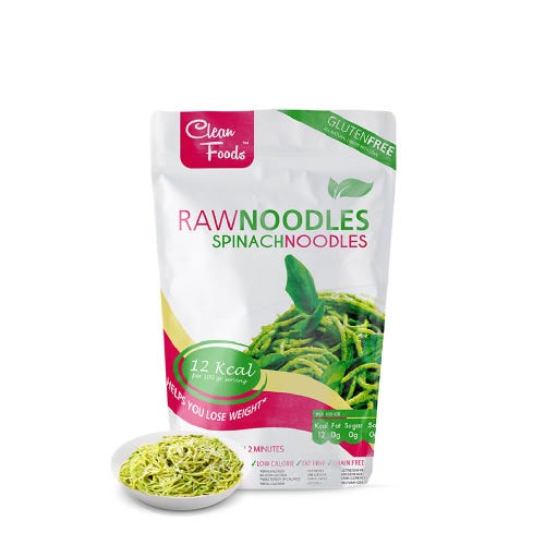 RohNoodles Spinat